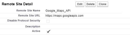 Add Google Map To Any Custom Object In Salesforce - BerTech LLC